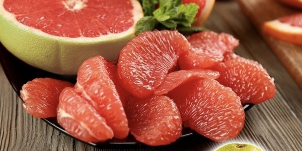best red pomelo