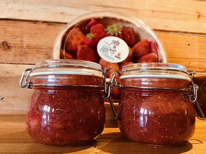 DIY strawberry jam